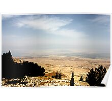 Mount Nebo in Moab Poster