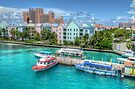Atlantis and Harbor Village in Paradise Island, Nassau, The Bahamas by 242Digital