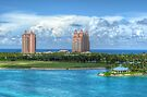 Atlantis Towers in Paradise Island, The Bahamas by 242Digital