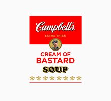 Campbell's Extra Thick Cream of Bastard Soup (white) Womens Fitted T-Shirt