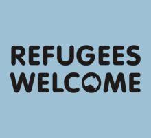 Refugees Welcome Australia Kids Tee