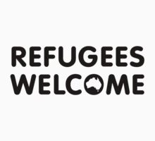 Refugees Welcome Australia by M  Bianchi