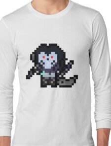 Death, The Pixel Horseman Long Sleeve T-Shirt