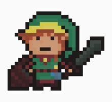 Link, Hyrule's Pixel Guardian Baby Tee