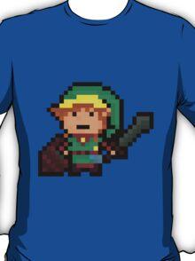 Link, Hyrule's Pixel Guardian T-Shirt