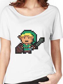 Link, Hyrule's Pixel Guardian Women's Relaxed Fit T-Shirt