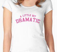 Mean Girls - A Little Bit Dramatic Women's Fitted Scoop T-Shirt