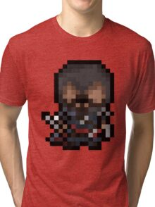 Ezio, The Pixel Assassin Tri-blend T-Shirt