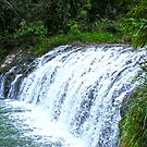 Waterfall 2 by Russell Voigt