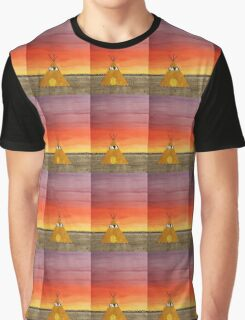 Tepee or Not Tepee original painting Graphic T-Shirt