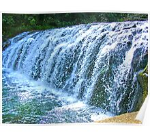 Waterfall (side view) Poster