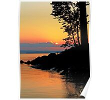 Summer Sunrise Lake Winnipesaukee  Poster