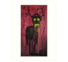 Untitled (demon) Art Print