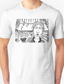 The Flute Player - let your song be heard! T-Shirt