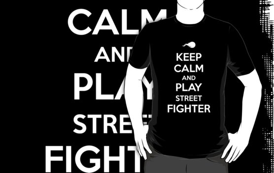 Keep Calm and Play Street Fighter by aizo