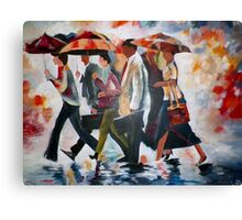 Rainy Days and Mondays Canvas Print