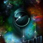 Flight Of The Corbius by xzendor7