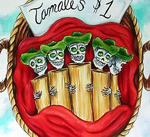Day of the Dead Tamales $1 by HCalderonArt