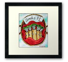 Day of the Dead Tamales $1 Framed Print