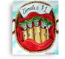 Day of the Dead Tamales $1 Canvas Print