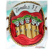Day of the Dead Tamales $1 Poster