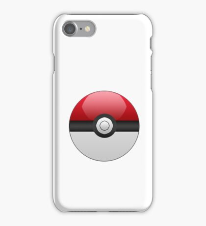 Pokeball iPod/iPhone Case - White iPhone Case/Skin