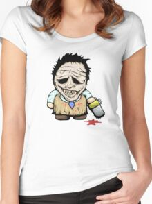 Tiny Leatherface Women's Fitted Scoop T-Shirt