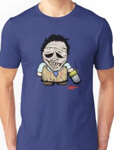 Tiny Leatherface Unisex T-Shirt