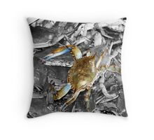 Crabs Throw Pillow