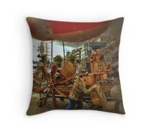Mad Max Rock Boat Throw Pillow