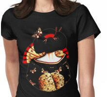 Geisha Girl TShirt Womens Fitted T-Shirt
