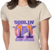 Team Scorpio: SOOLIN Womens Fitted T-Shirt