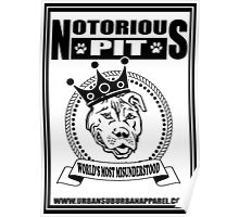 NOTORIOUS PIT BULL Poster
