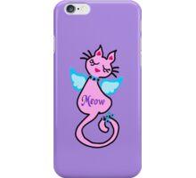 ღ°㋡Swanky-Angelic Cat Fantabulous iPhone & iPod Cases ㋡ღ° iPhone Case/Skin
