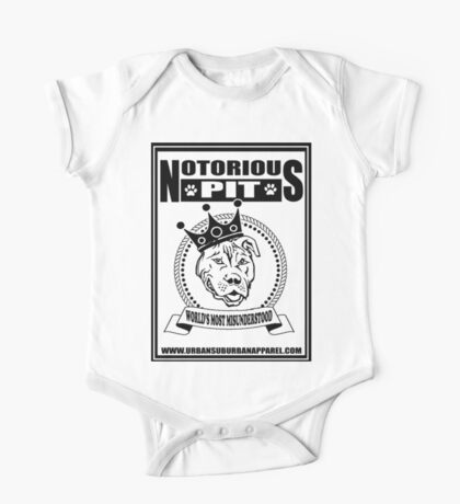NOTORIOUS PIT BULL One Piece - Short Sleeve