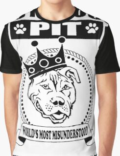 NOTORIOUS PIT BULL Graphic T-Shirt