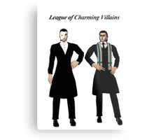 League of Charming Villains Metal Print