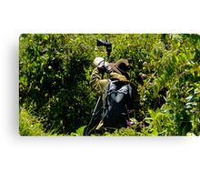 Bird Hunting Canvas Print