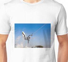 Kitesurfing in the Mediterranean sea  Unisex T-Shirt