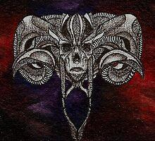 RORSCHACH 01 - ACEO by OblivionArts