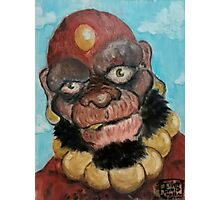 The Red Monk Photographic Print