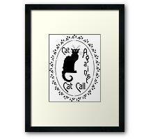 Feminist Cat Framed Print