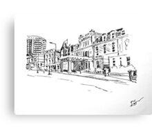 Bournemouth Royal Bath Hotel 2012 Canvas Print