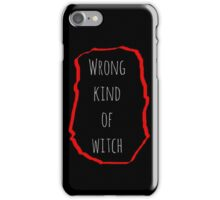 Wrong Witch iPhone Case/Skin