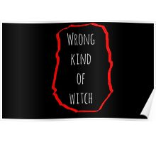 Wrong Witch Poster
