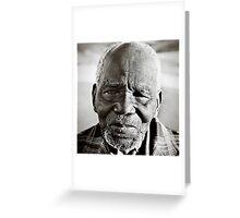 Elder from Chobela Greeting Card