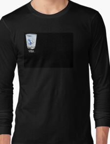 trash can shirt design by LondonDrugs in black  Long Sleeve T-Shirt