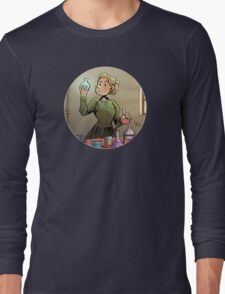 Curie Round Design 01 Long Sleeve T-Shirt