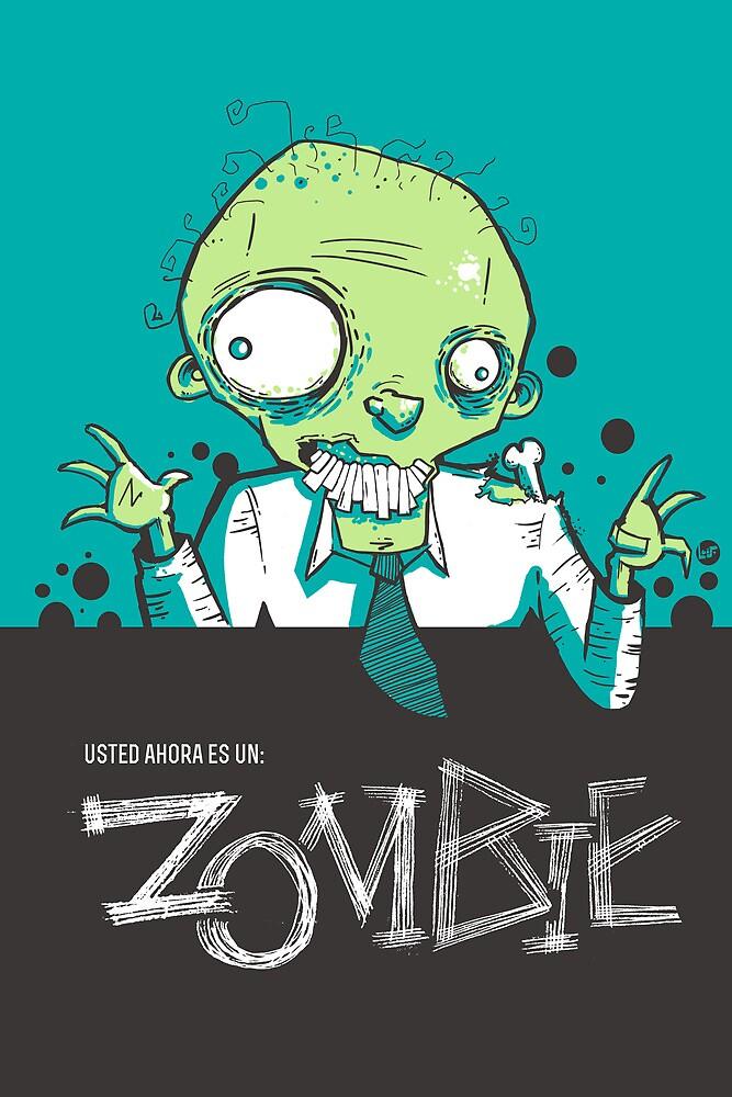 Y-zombie by BlueGallo