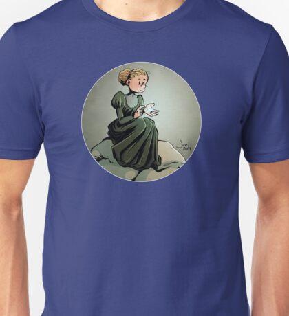 Curie Round Design 02 Unisex T-Shirt